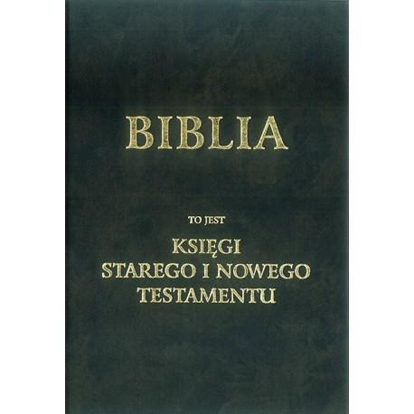 Biblia w  tłumaczeniu o. Jakuba Wujka