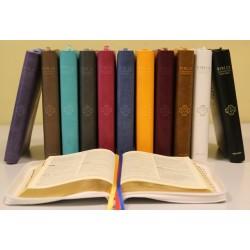 Biblia pierwszego Kościoła okładka PU z paginatorami i suwakiem