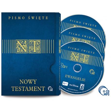 Nowy Testament- 3 płyty CD MP3