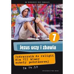 Jezus uczy i zbawia Podręcznik do klasy VII szkoły podstawowej