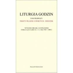 Liturgia Godzin. Dodatek do tomu 1