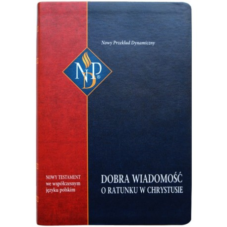 Nowy Testament NPD, okładka kolor, z paginatorami